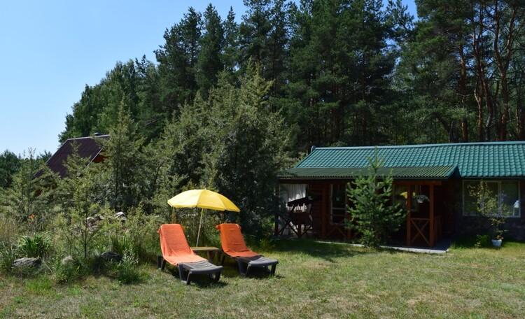Усадьба «Chill.by», Блокированный домик в лесу