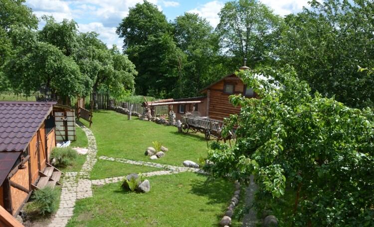 Байдарочная Агроусадьба «Узлянка», Летний кемпинг и гостевой домик