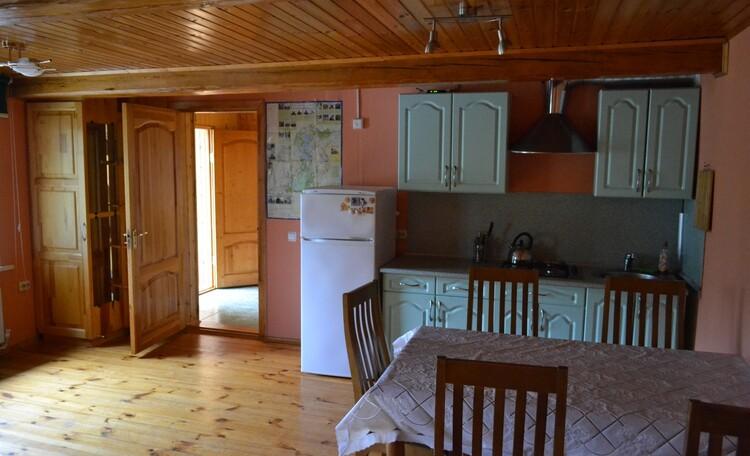 """Country Villa """"Na Opushke"""", Маленький дом гостиная-кухня."""