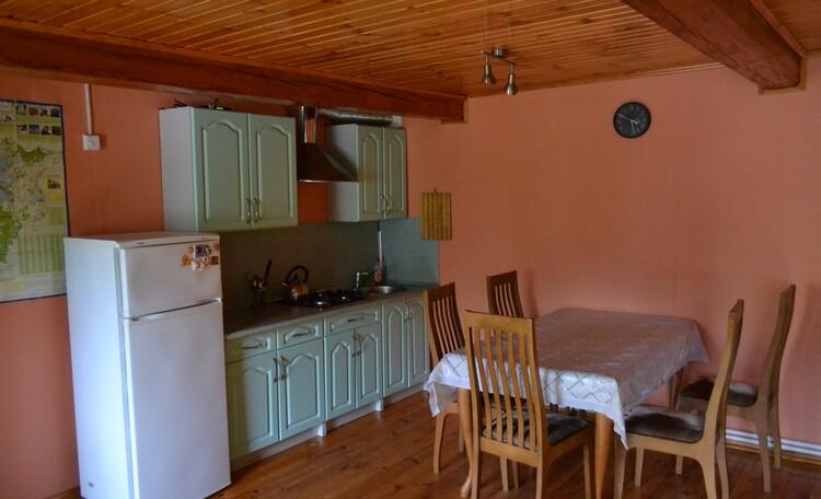 Агроусадьба «На опушке», Маленький дом гостиная-кухня.