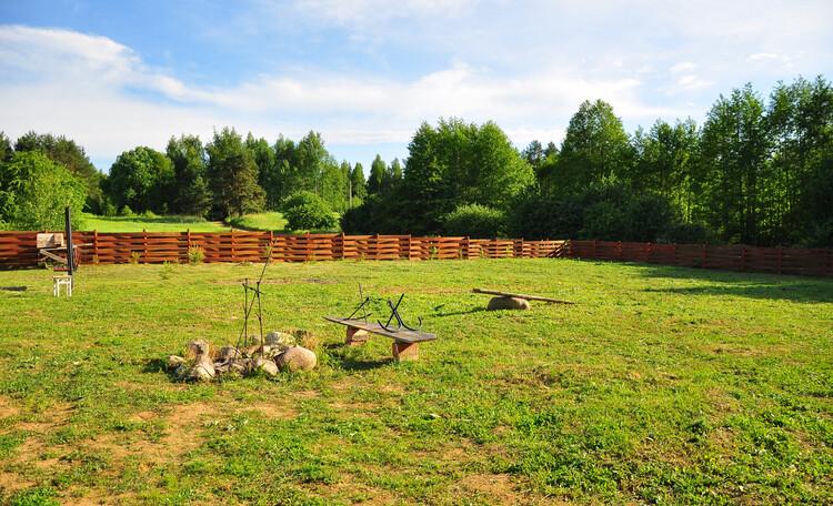 Агроусадьба «Войсо», место для костра