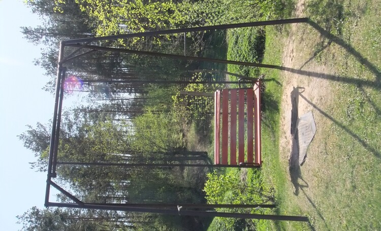 Агроусадьба «У Ричарда», Есть и детские качели Фото позже