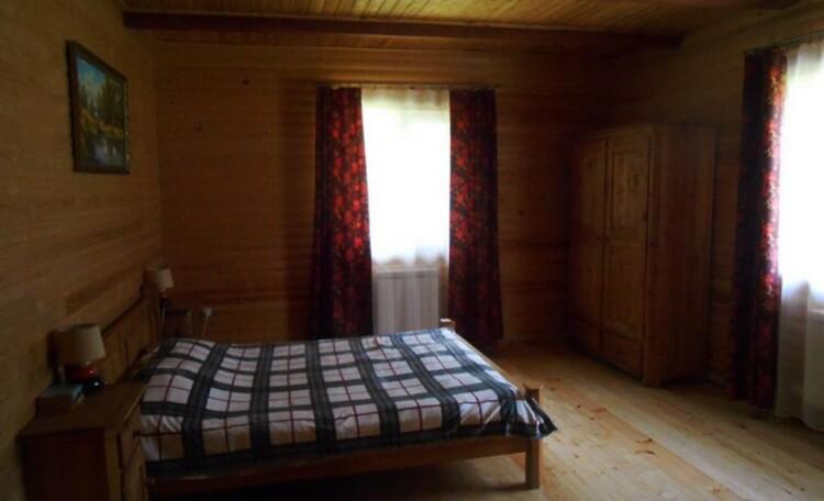 Агроусадьба «Викинг», спальня на 3 места 1 этаж