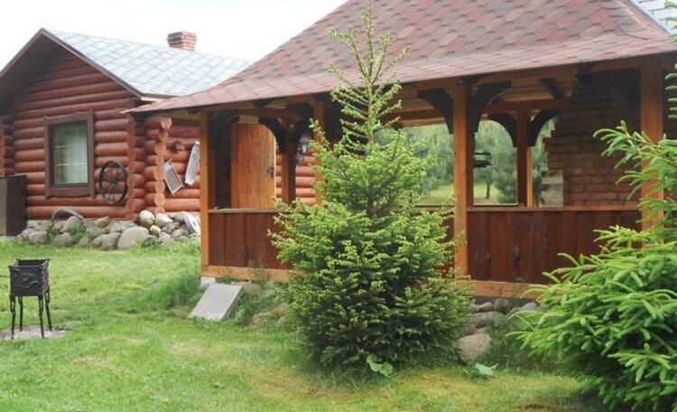 Агроусадьба «Викинг», беседка и баня