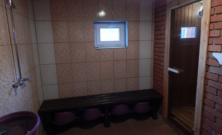 """Farmhouse """"Dorogobushka"""", Мойка в бане"""