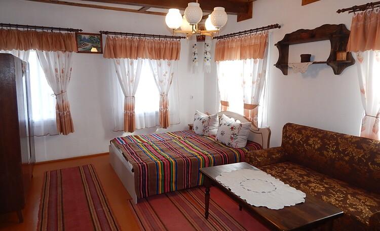 """Farmhouse """"Dorogobushka"""", Жилая комната"""
