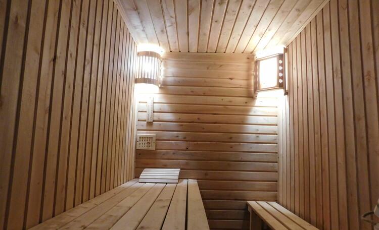 Усадьба Пущанка в Беловежской Пуще, Баня в усадьбе Пущанка