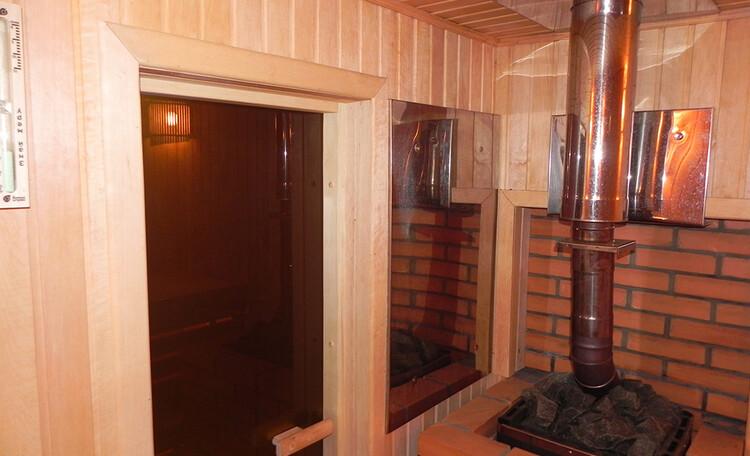 Парная в усадьбе Березинская мечта. Снять дом с баней у реки в Белоруссии