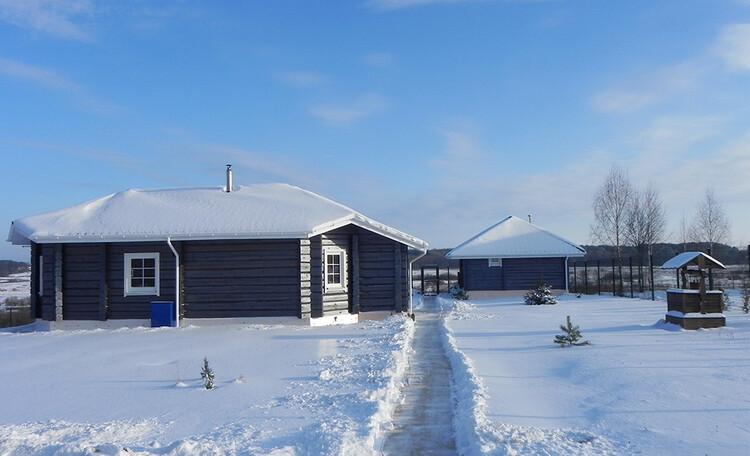 Усадьба «Березинская мечта» у реки, Отдых зимой в усадьбе Березинская мечта в Белоруссии