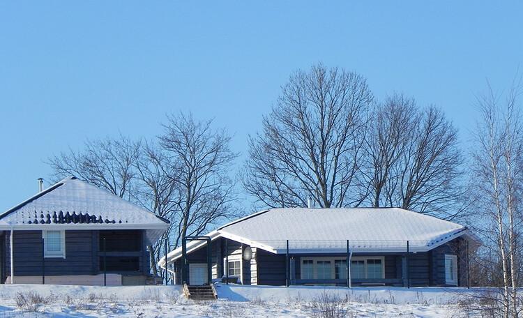 Зимний отдых в коттедже на Березине в Минской области. Аренда усадьбы Березинская мечта