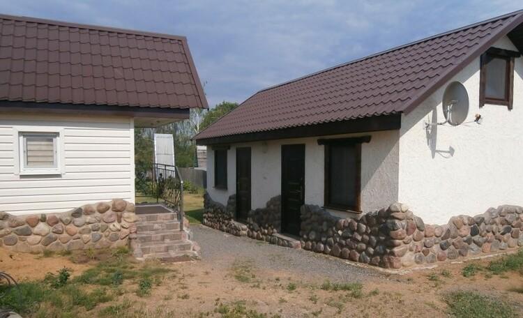 Усадьба «Клевое местечко» на берегу Осиповичского водохранилища, Домик для семьи