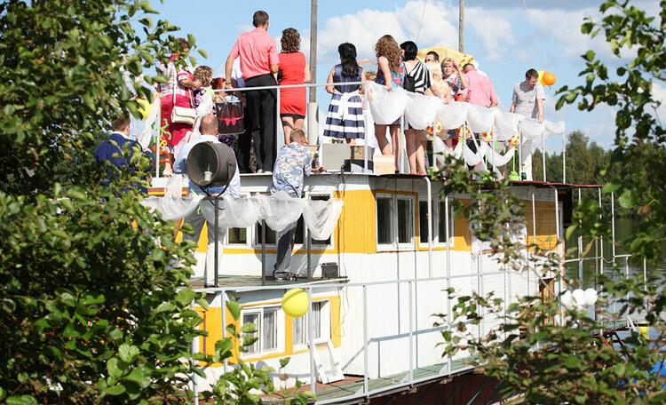 Проведение свадьбы в Кривцах на озере Долгое