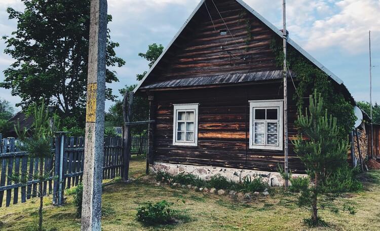Голубые озера усадьба Трабутишки, Большой дом