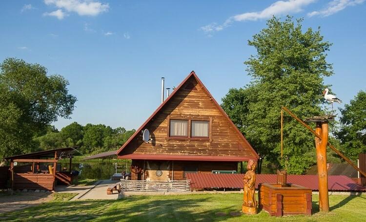 Усадьба «У Григорьевича», Дом рыбака на 10 человек