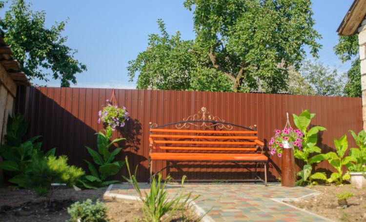 Агроусадьба «Ирина», Благоустройство внутреннего двора