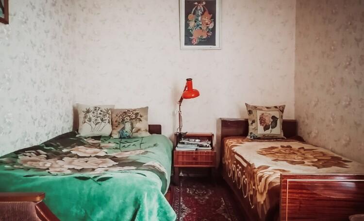Агроусадьба «Пущанский дворик», Комната с двумя раздельными кроватями