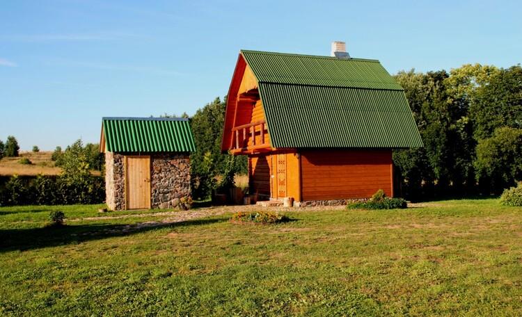 "Farmhouse ""Hutorok u ozera"" (""The farm by the lake"") , Баня и рядом душ."