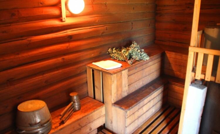 """Агроусадьба """"Хуторок у озера"""". , Любителям  жаркой бани, легкого пара - наша баня."""