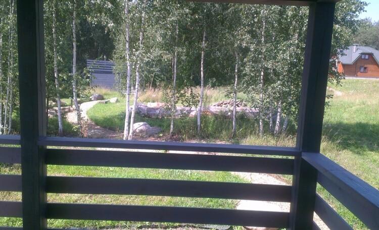 "Eco homestead ""Iznachalnoe"", Вид с террасы"