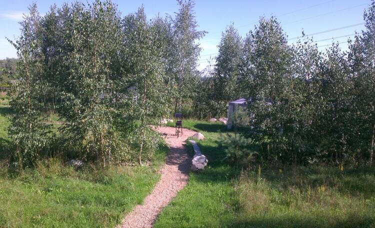 """Eco homestead """"Iznachalnoe"""", Место отдыха возле домика"""