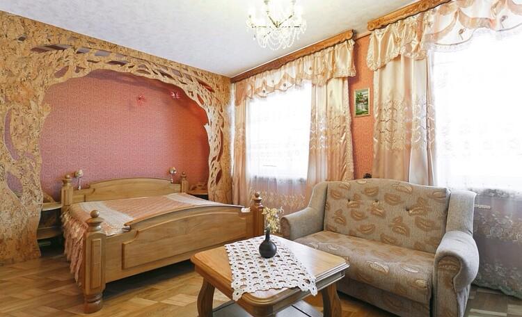 """Усадьба """"ВеЛюНа"""", Vip room с собственным санузлом с джакузи"""