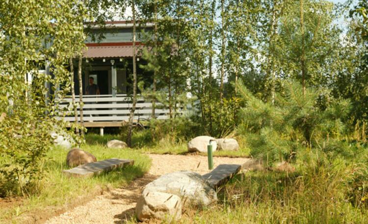 """Eco homestead """"Iznachalnoe"""", Дом на 4 человека, спальня, кухня, душ, веранда, кондиционер."""