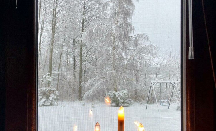 """Агроусадьба «Ваше лето» дом """"Мурашки плюс"""". В зимний отпуск надо отправляется в уютное место и в хорошей компании. Зимние скидки на пребывание больше 5 дней."""