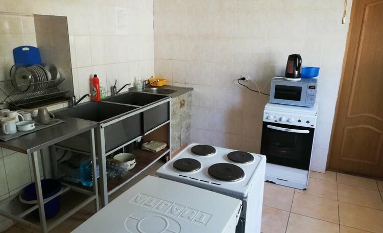 База отдыха «Сутково», Кухня