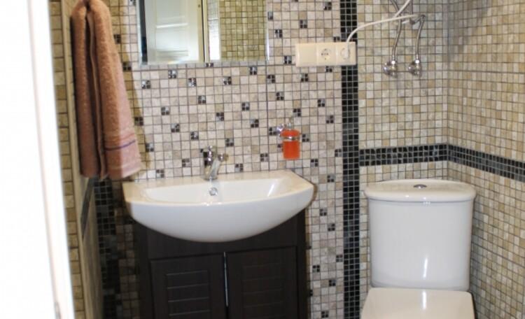 База отдыха «Плещеницы», Люкс 9 (однокомнатный) - туалет