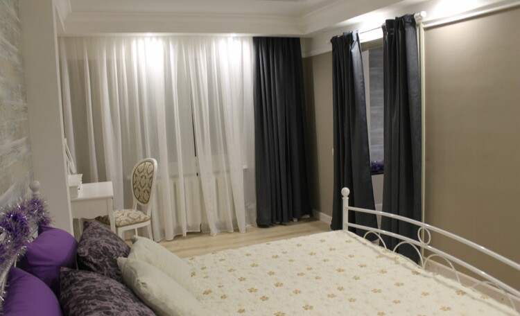 "Recreation centre ""Pleshchenitsy"", Люкс 8 - спальня"