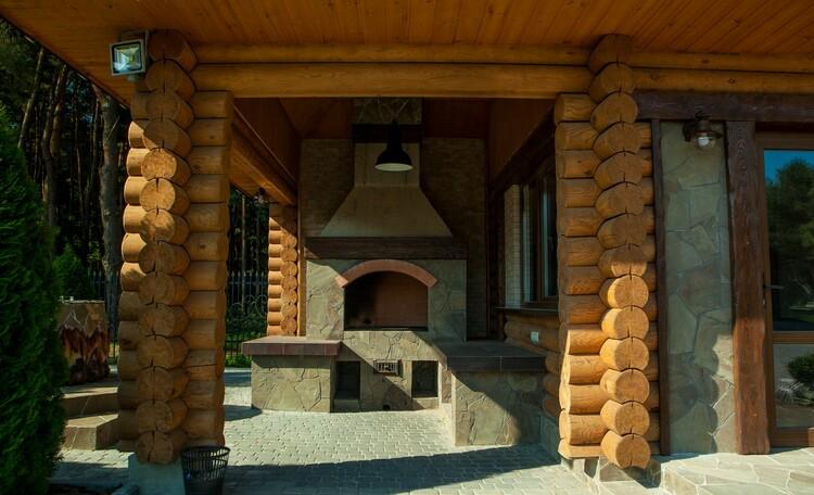 Парк-отель «Золотой желудь», Русская печь