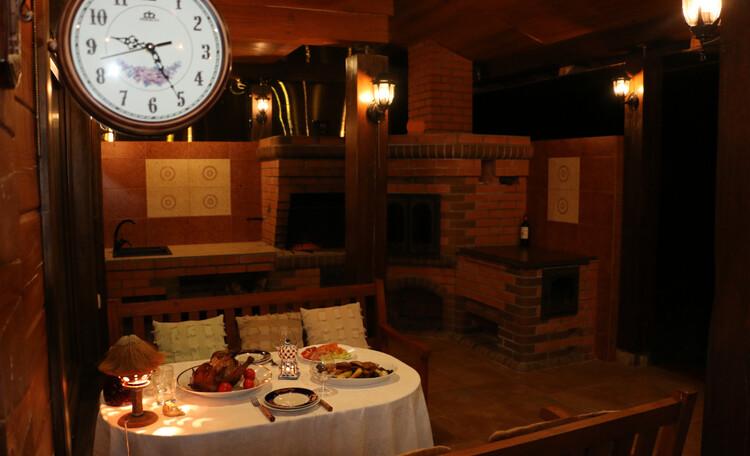 Усадьба «Terrassa», Ужин на террасе - отдых должен быть полноценным с любой стороны!