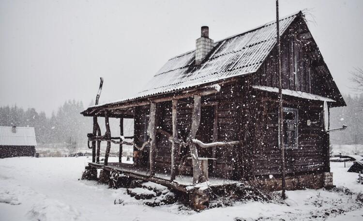 Голубые озера усадьба Трабутишки, Маленький дом.