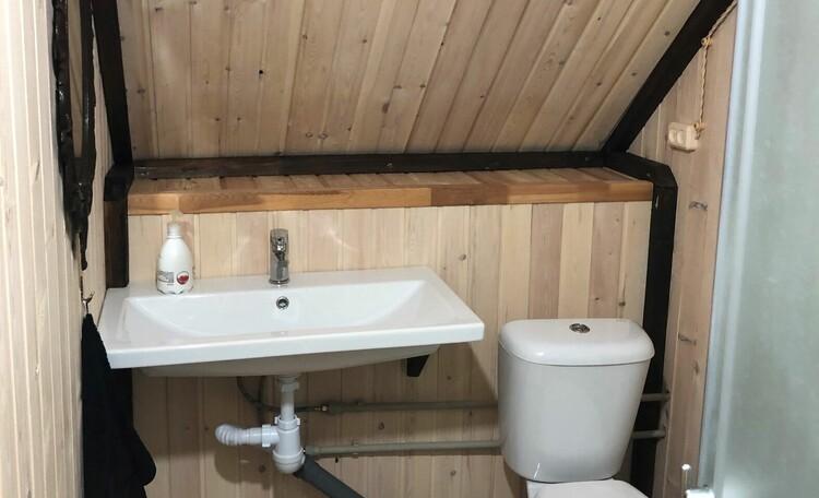 Агроусадьба «Узлянка» БАННЫЙ комплекс, Ванная комната в большом семейном номере