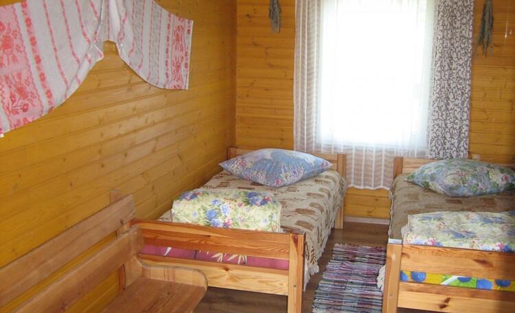 """Farmstead """"Belye Rosy"""" (""""White Dew""""), спальня 2 этаж"""