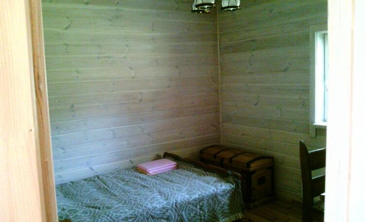 Агроусадьба  «Под липами в Дмитровичах», Спальня на первом этажэ