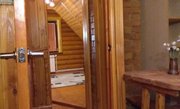 Дом наверху...
