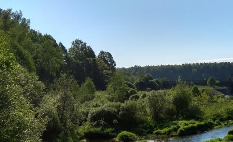"""Агроусадьба """"Сонечныя Бары"""", Река Черница."""