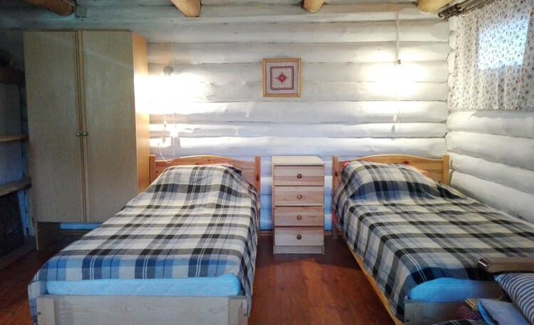 Усадьба «Богино», Одноэтажный домик. Спальная зона.