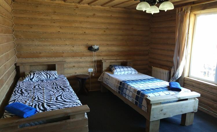 Струсто, комната в люксе с односпальными кроватями