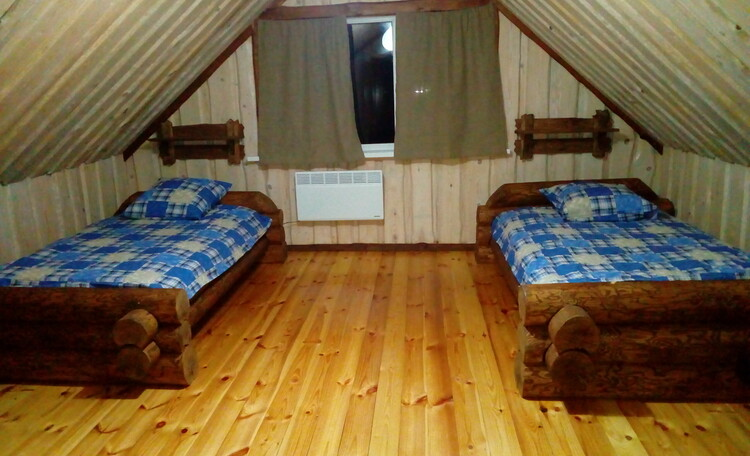 Агроусадьба «Журавинка», А вы спали на рубленных кроватях?