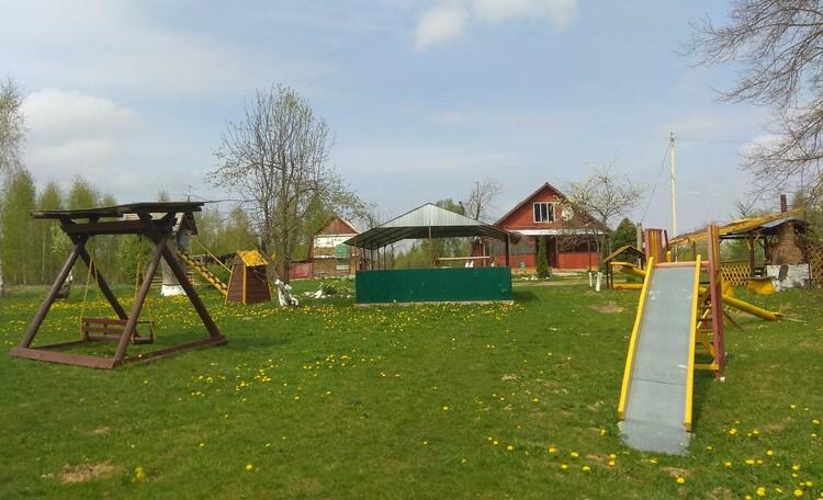 Агроусадьба «Ивановщина», Территория усадьбы
