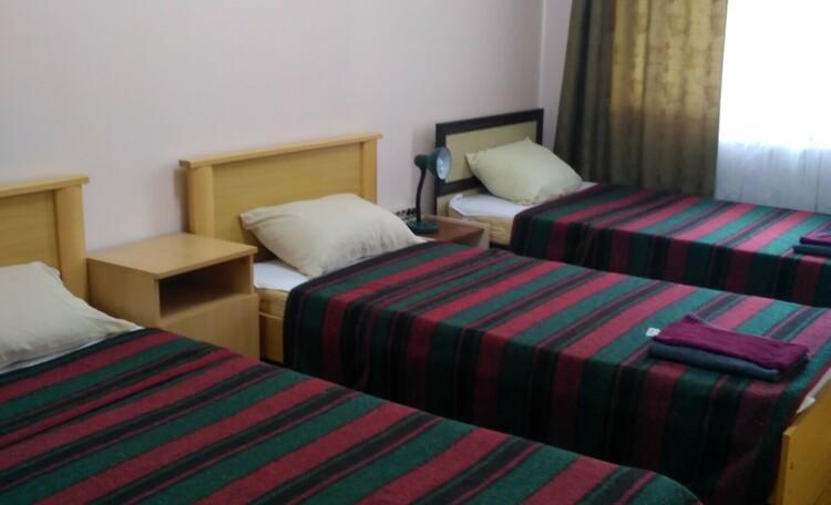 База отдыха «Сутково», 3х местная спальная в блоке Стандарт.