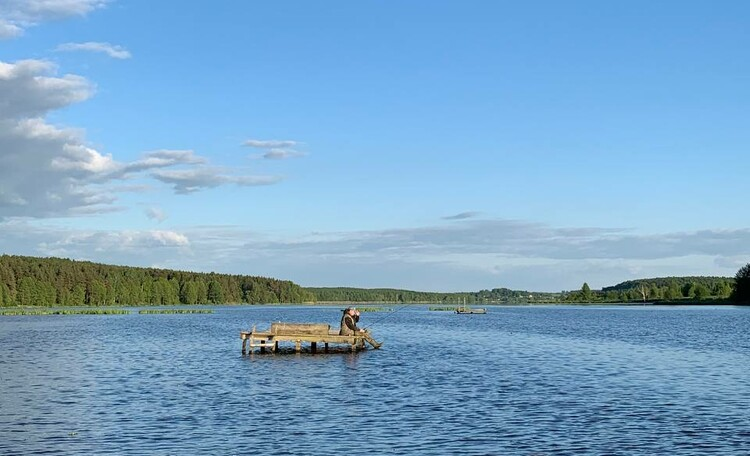 Агроусадьба «Заречная», Рыбалка с пирса.