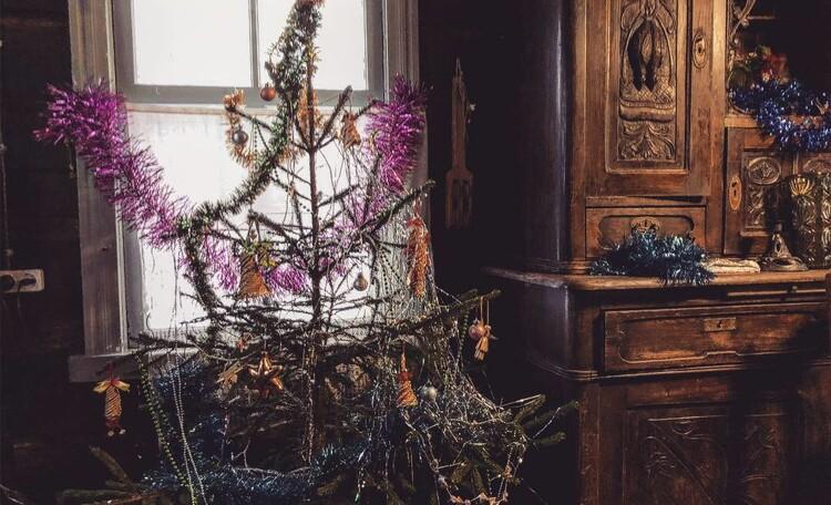 Голубые озера усадьба Трабутишки, Новый год!
