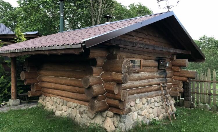 Агроусадьба «Узлянка» БАННЫЙ комплекс, Баня по-черному