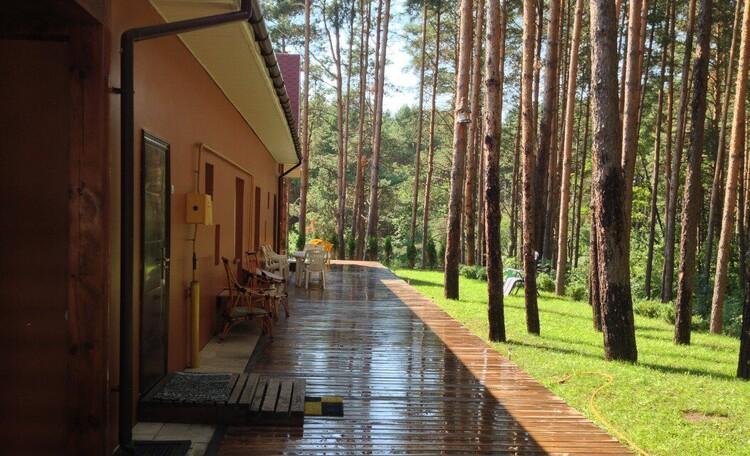 База отдыха «Васпан», после дождя...