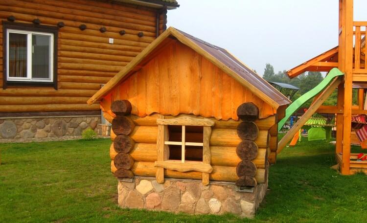 """Агроусадьба """"Белорусский Байкал"""", Детский игровой домик-беседка."""