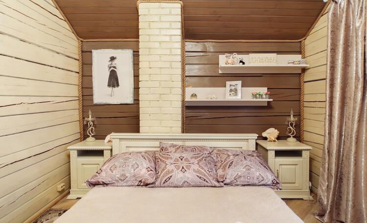 Усадьба «Terrassa», Большая кровать с двухсторонним ортопедическим матрасом. Сладких снов!