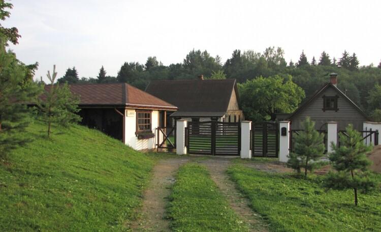 въезд на хутор Мустанг